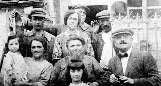La famille Perronneau en 1925